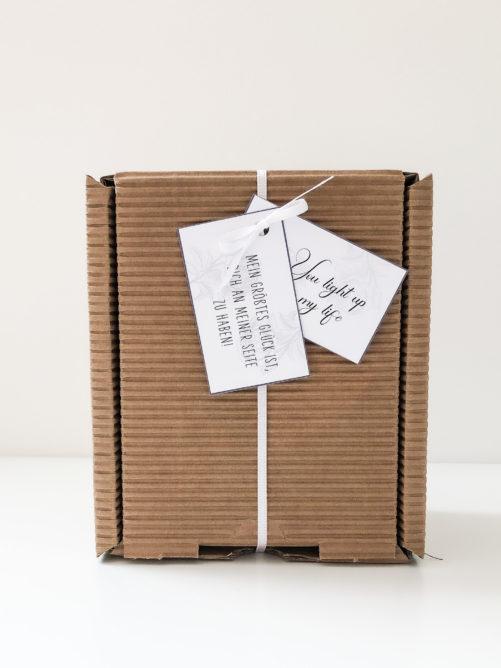 Geschenkbox sojalux liebe
