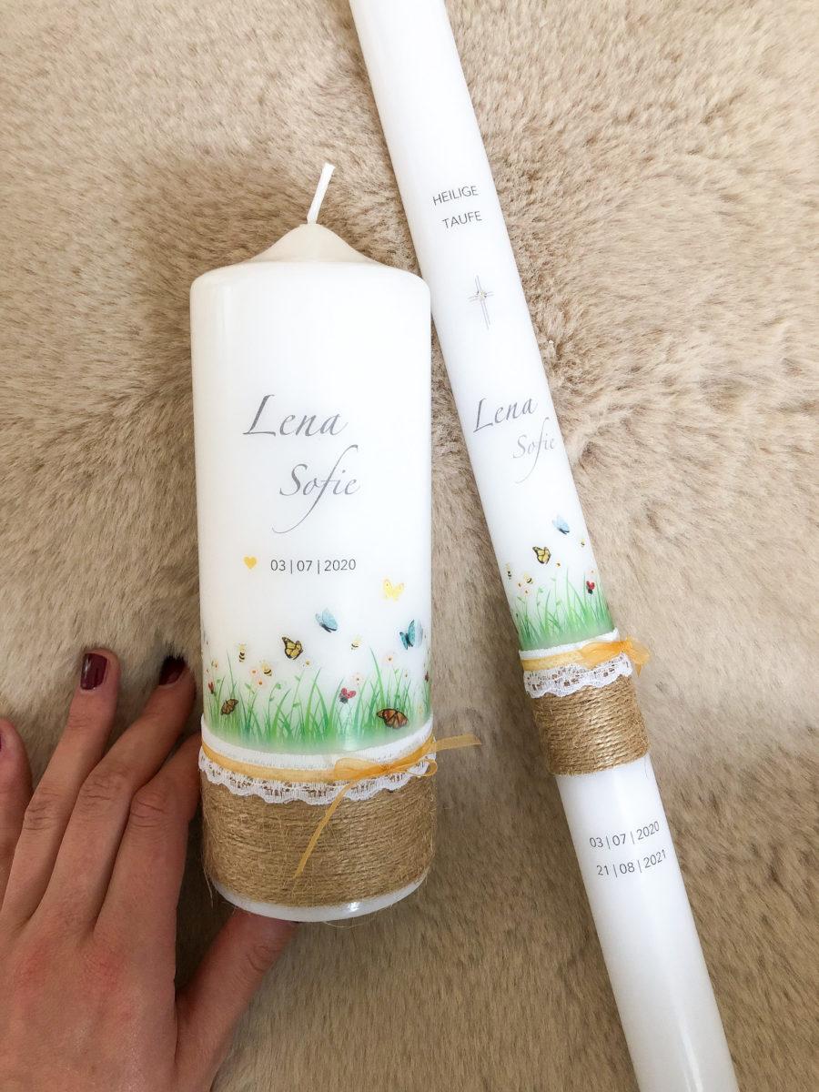 Kerzendesign Blumenwiese